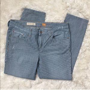 Anthropologie Pilcro Stet Railroad Striped Jeans